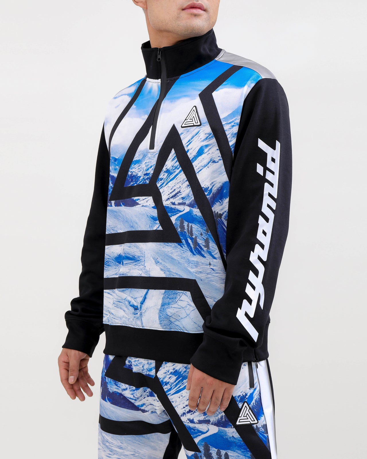 Maze BP Ski Track Jacket-COLOR: BLACK