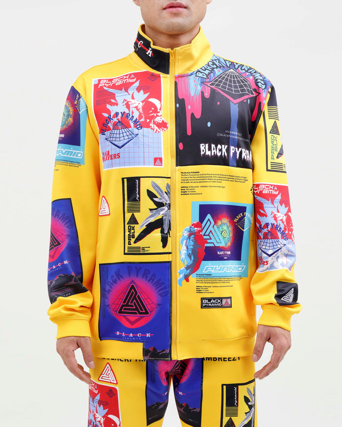 FUTURE RELIC TRACK JACKET-COLOR: YELLOW