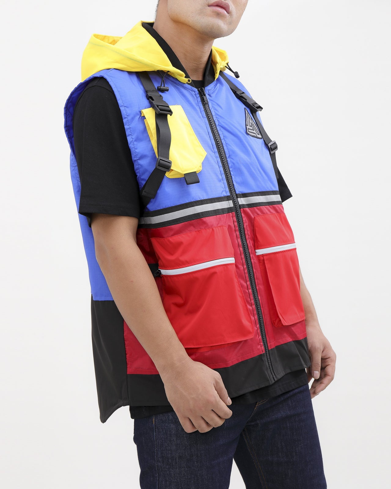 UTILITY TECH VEST-COLOR: MULTI COLOR