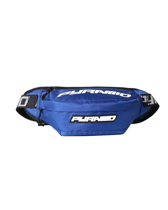 BIG PYRAMID WAIST BAG - Color: Blue