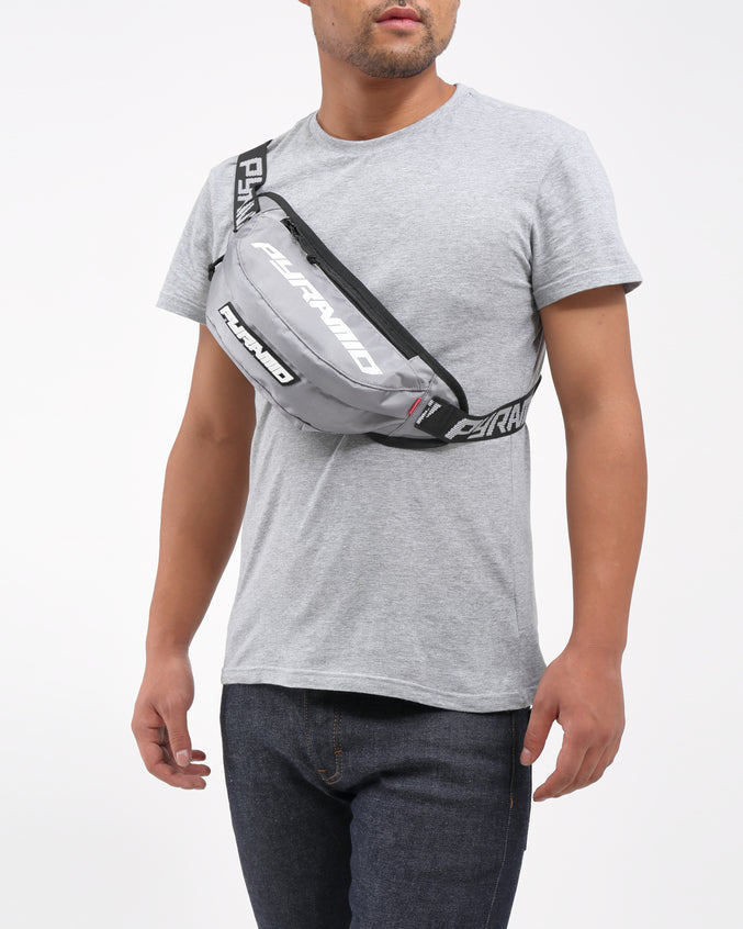 BIG PYRAMID WAIST BAG - Color: Gray