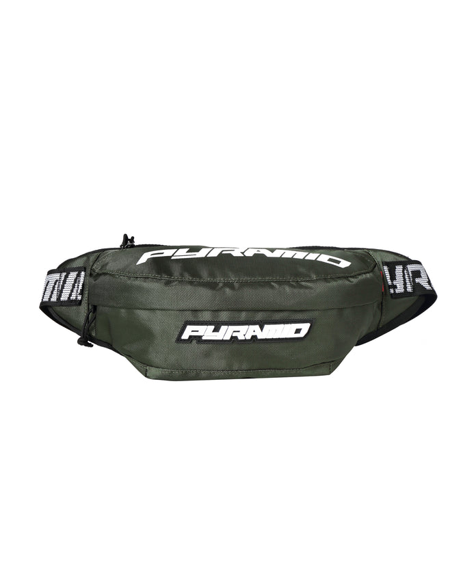 BIG PYRAMID WAIST BAG - Color: Olive