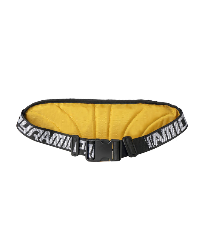 BIG PYRAMID WAIST BAG - Color: Yellow