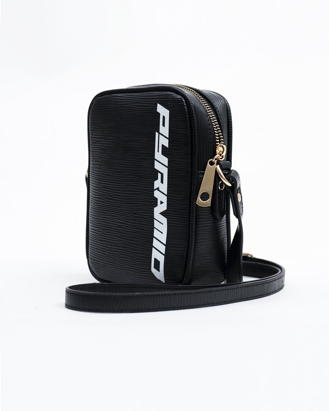 Lux Pyramid Small Side Bag - Color: BLACK