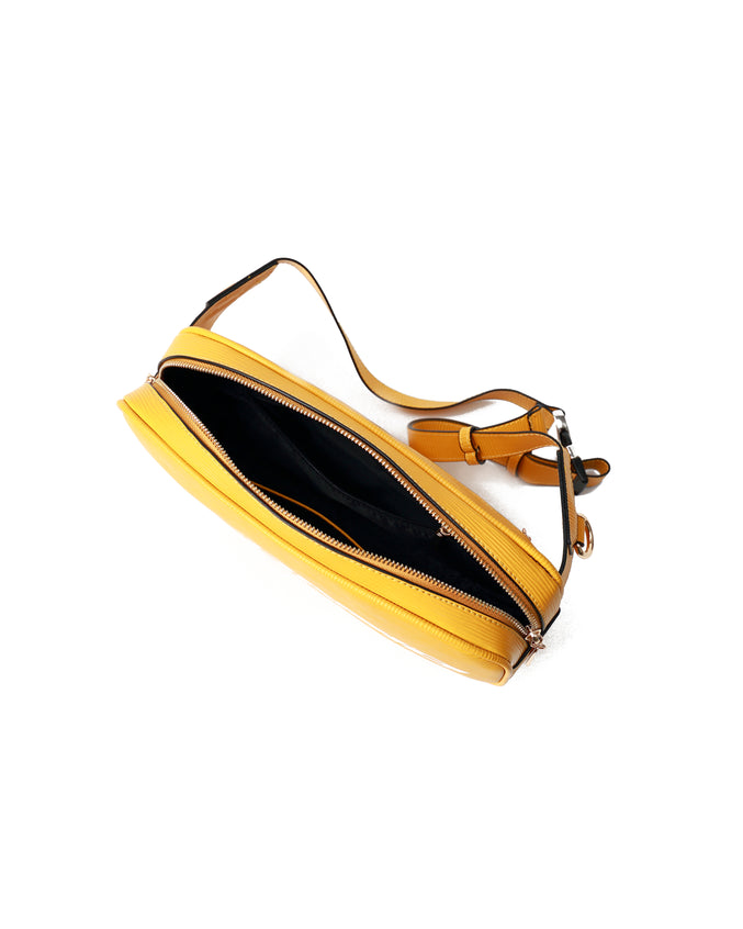 Lux Pyramid Sling Bags - Color: Yellow