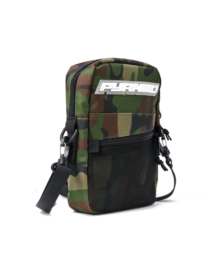 SMALL TECH SHOULDER BAG - Color: CAMO