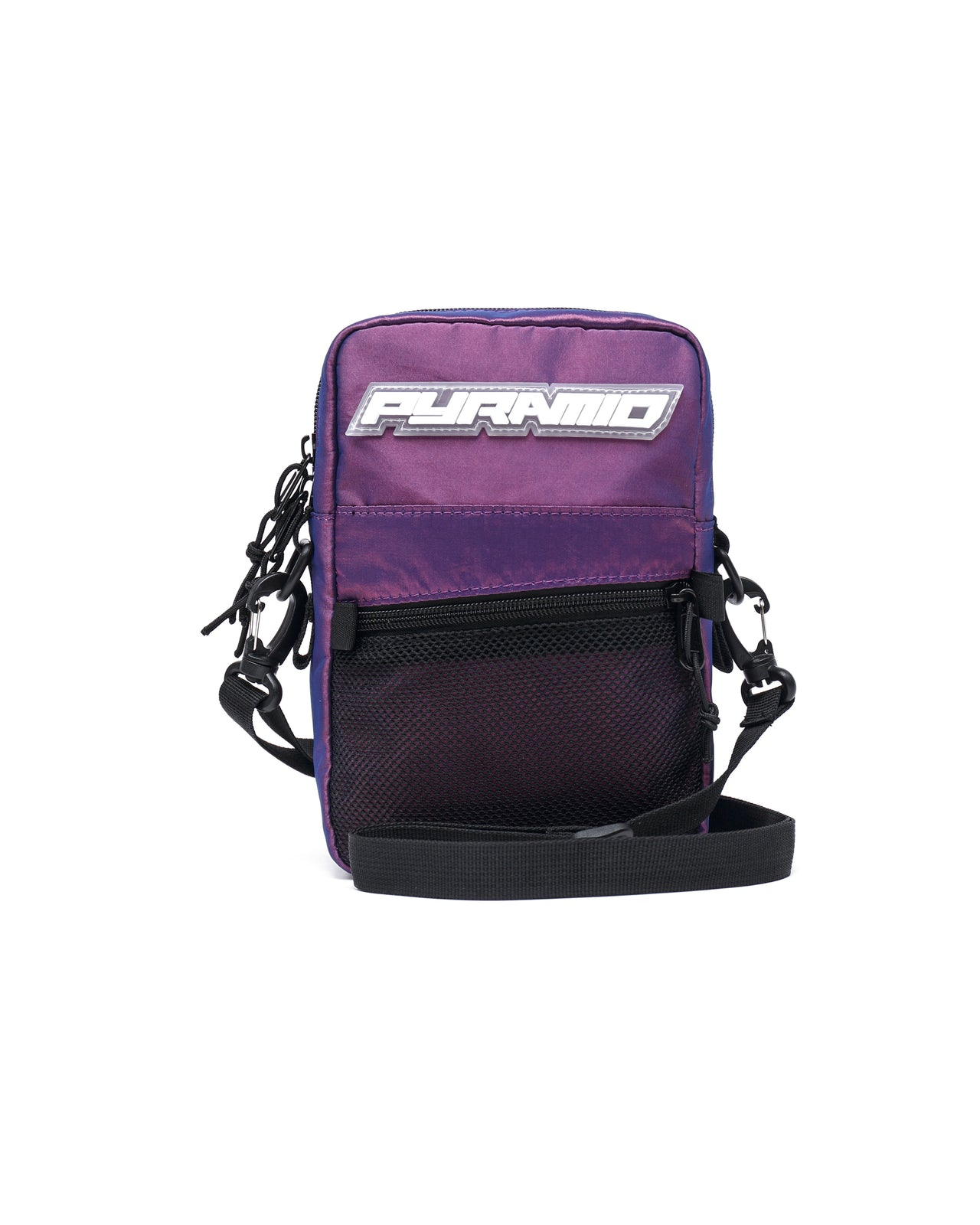SMALL TECH SHOULDER BAG - Color: PURPLE