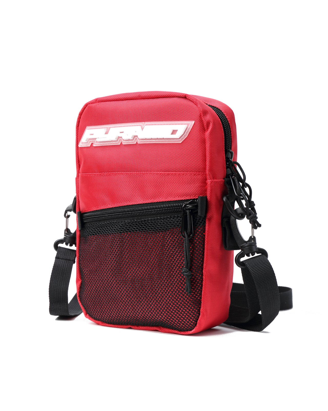 SMALL TECH SHOULDER BAG - Color: RED