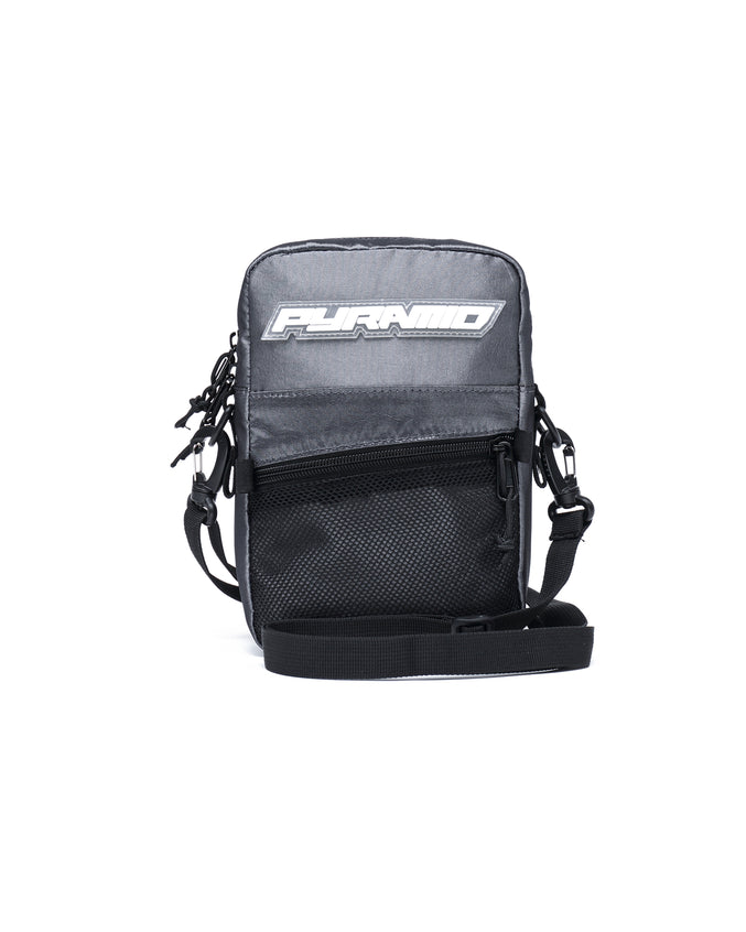 SMALL TECH SHOULDER BAG - Color: SILVER