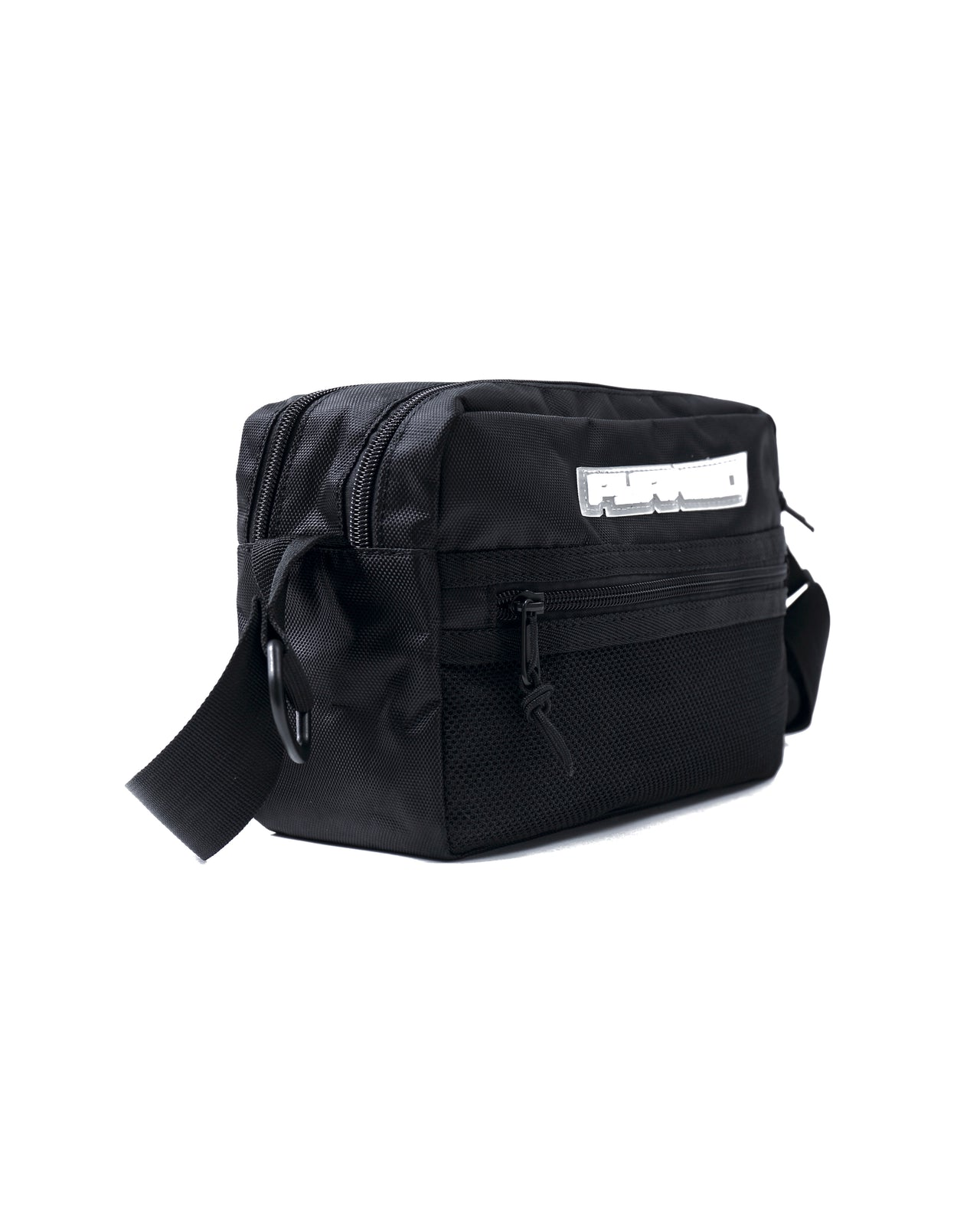 MEDIUM TECH SHOULDER BAG - Color: BLACK
