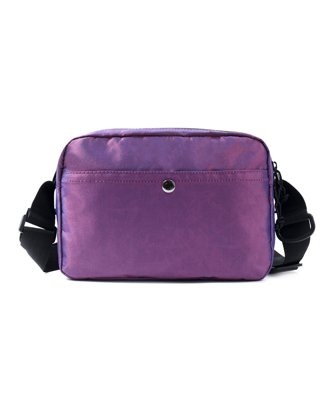 MEDIUM TECH SHOULDER BAG - Color: PURPLE