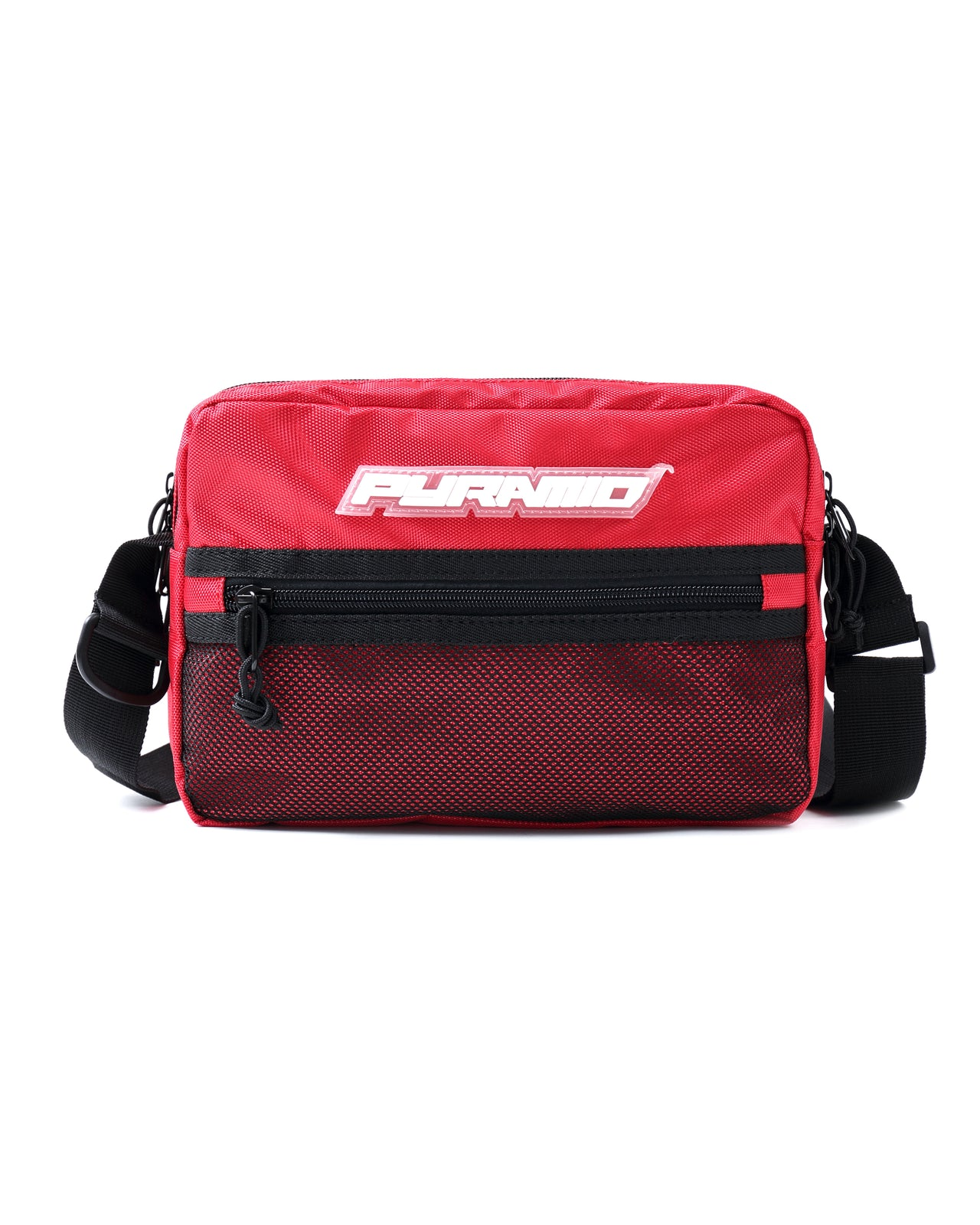 MEDIUM TECH SHOULDER BAG - Color: RED