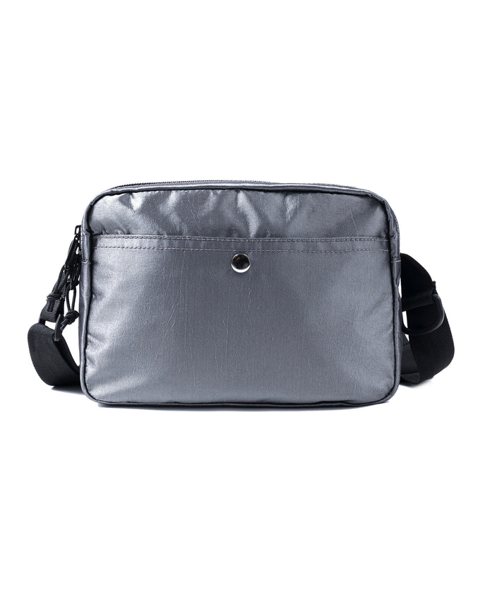 MEDIUM TECH SHOULDER BAG - Color: SILVER
