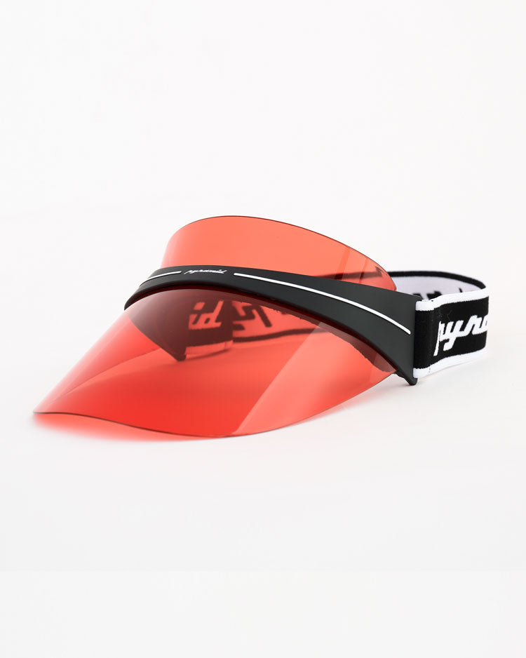 BP FUTURE VISOR-COLOR: RED
