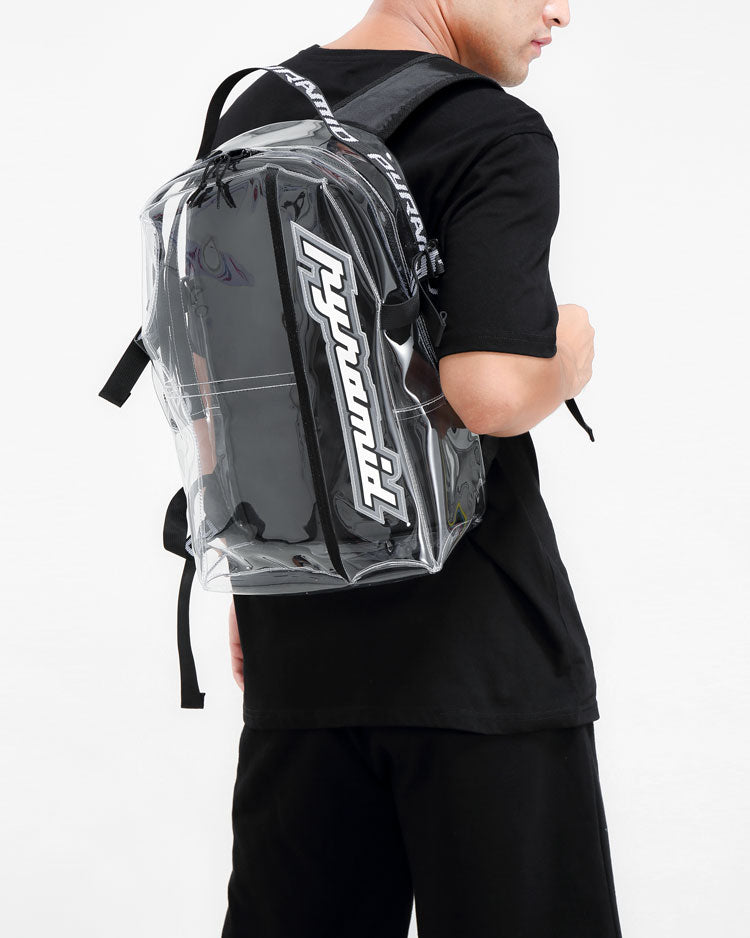 BP CLEAR BACKPACK-COLOR: CLEAR