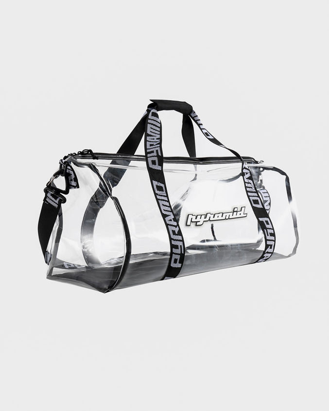 BP CLEAR DUFFLE BAG-COLOR: CLEAR