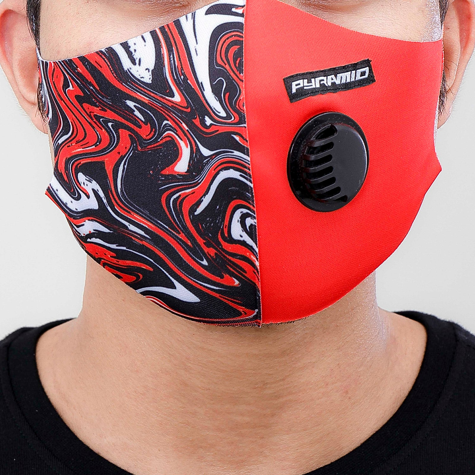 ABSTRACT FACE MASK-COLOR: MULTI