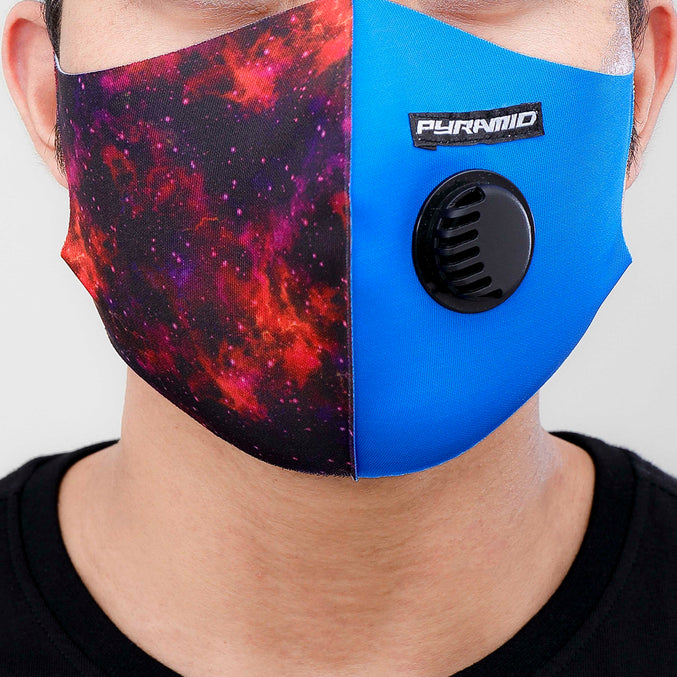 GALAXY FACE MASK-COLOR: MULTI