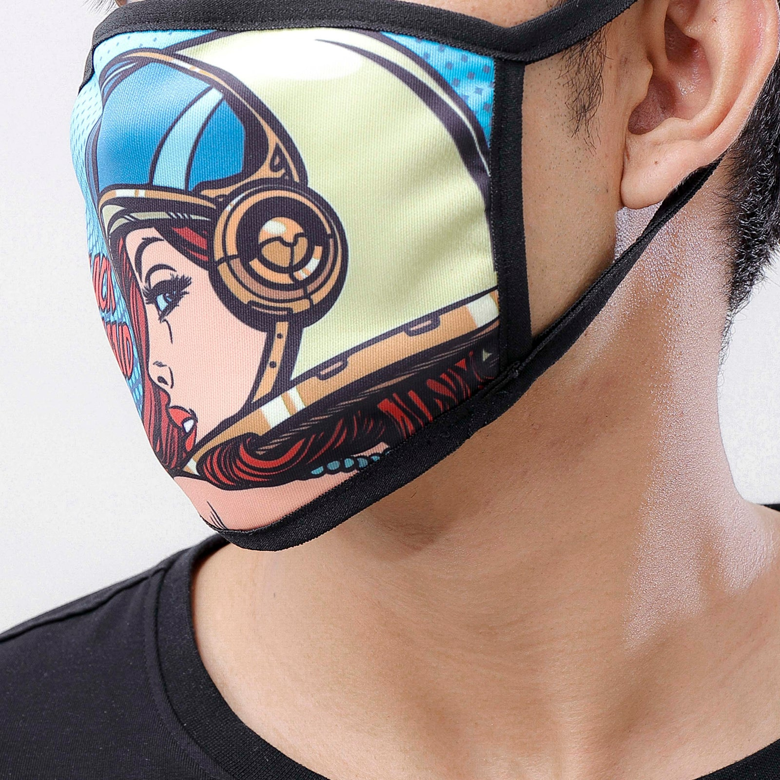 Look Back Mask-COLOR: MULTI