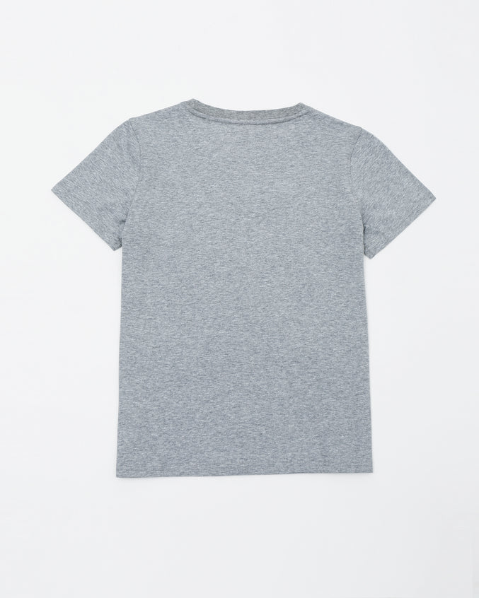 Black Pyramid Kids Tee - Color: Gray