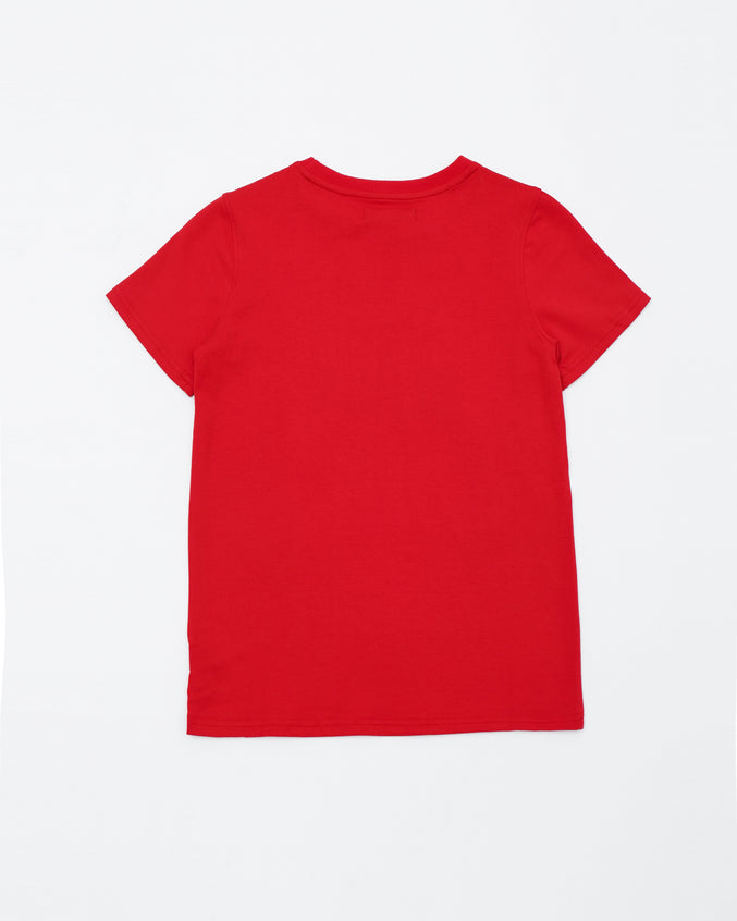 Black Pyramid Kids Tee - Color: Red