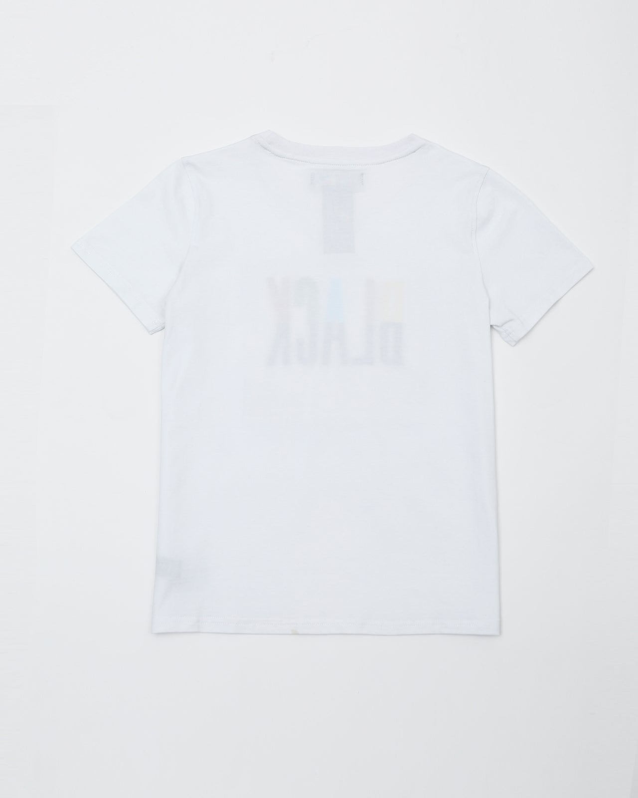Black Pyramid Kids Tee - Color: White