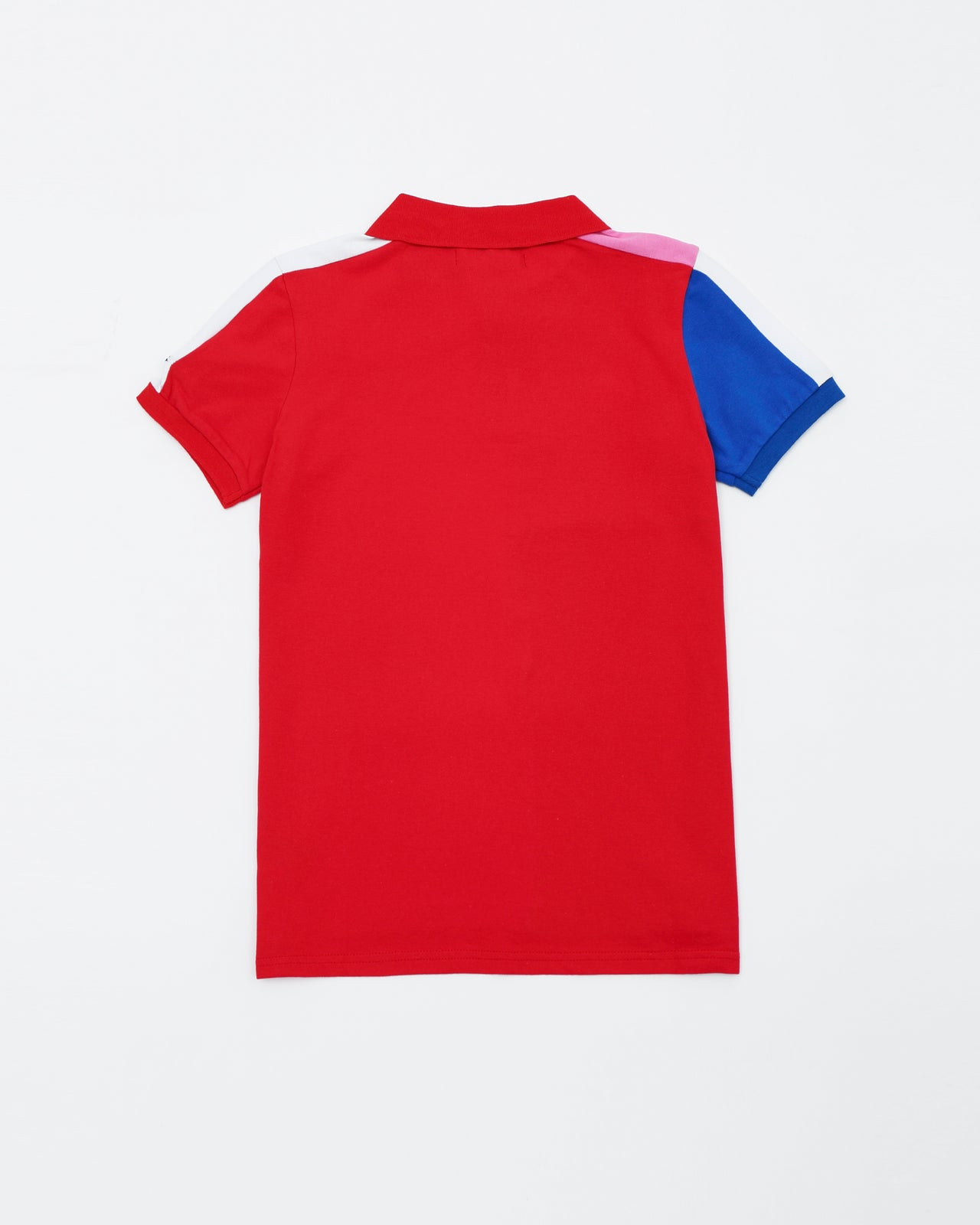 BP Athletic Colors Kids Polo - Color: Red