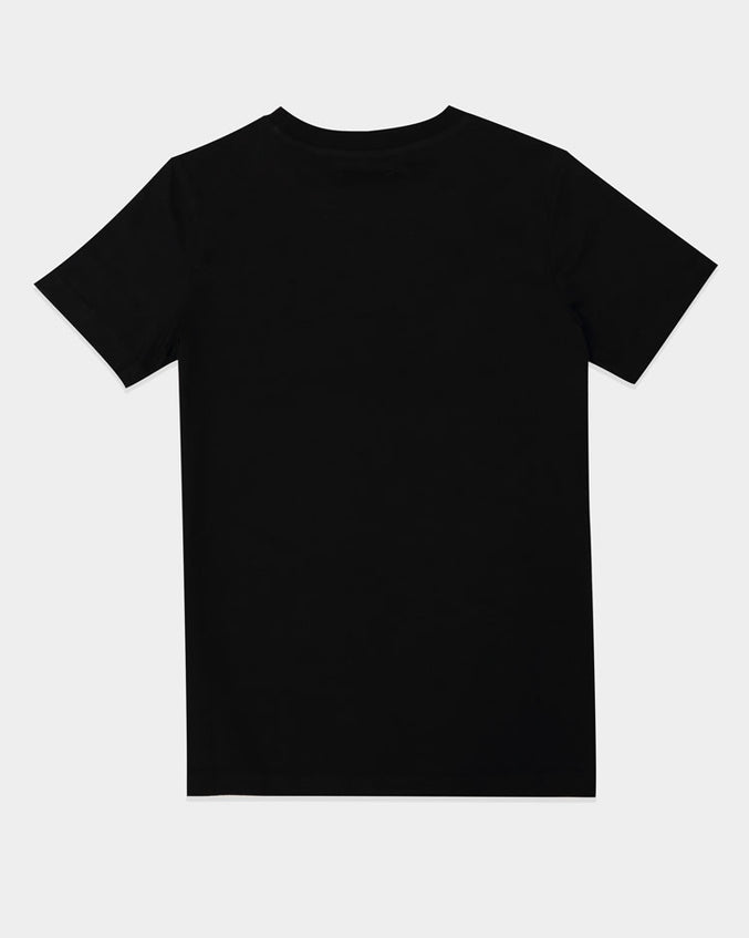 KIDS DRAGON TEE-COLOR: BLACK