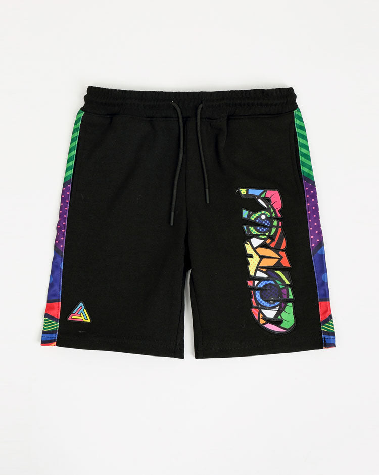 KIDS BRITTO EYES LOGO SHORT