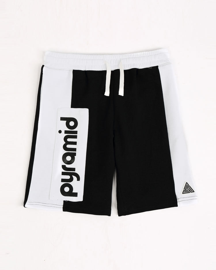 Kids Clean Bloack Shorts-COLOR: BLACK