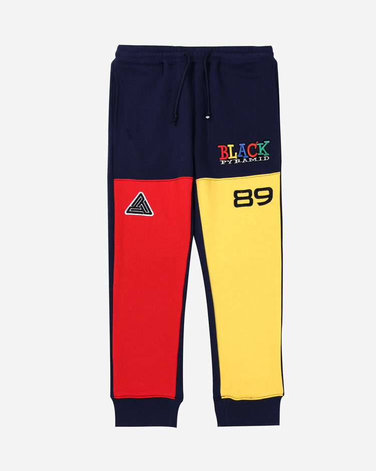 KIDS 90S KINDA SWERVE JOGGERS-COLOR: BLUE