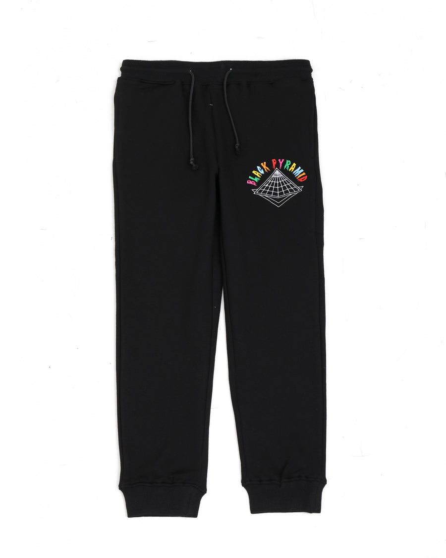 KIDS COLORS DRIP LOGO PANTS