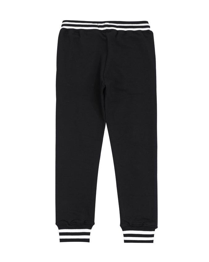 Kids Varsity Collection Pants-color: black