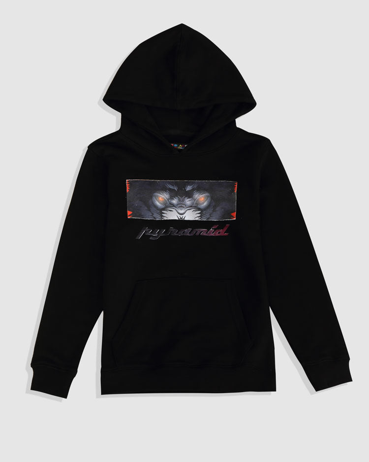KIDS CRYING EYES LOGO HOODY