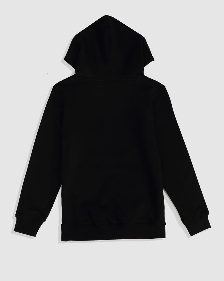 KIDS CRYING EYES LOGO HOODY-COLOR: BLACK