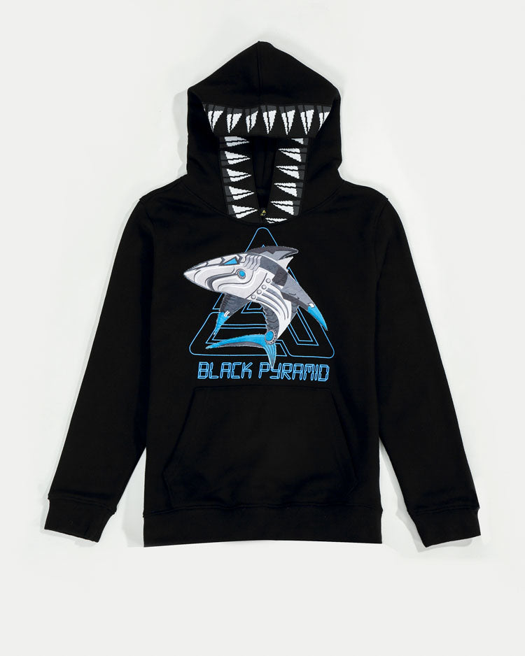 KIDS CYBER SHARK HOODY