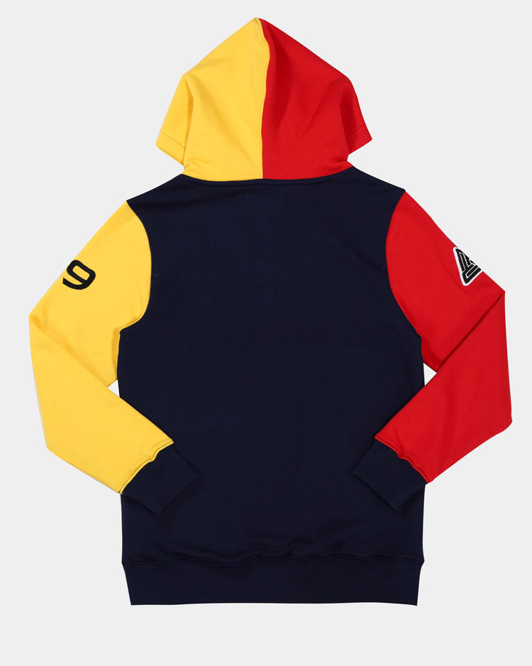 KIDS 90S KINDA SWERVE HOODY-COLOR: BLUE