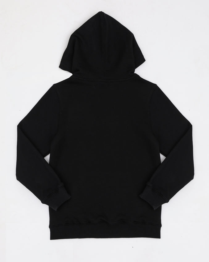 KIDS STONED DRIP LOGO HOODY-COLOR: BLACK