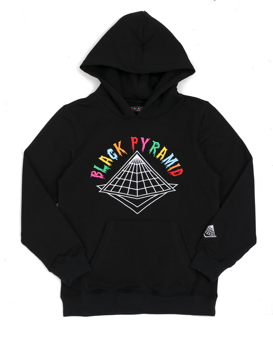 KIDS COLORS DRIP LOGO HOODY