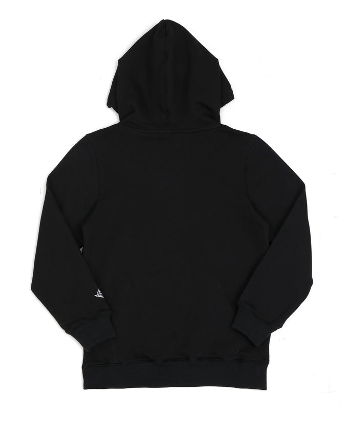 KIDS COLORS DRIP LOGO HOODY-COLOR: BLACK