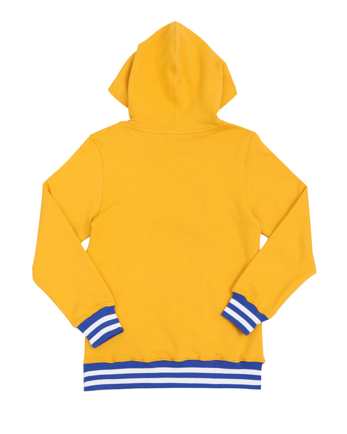 KIDS PYRAMID HUNGRY HOODY-COLOR: YELLOW