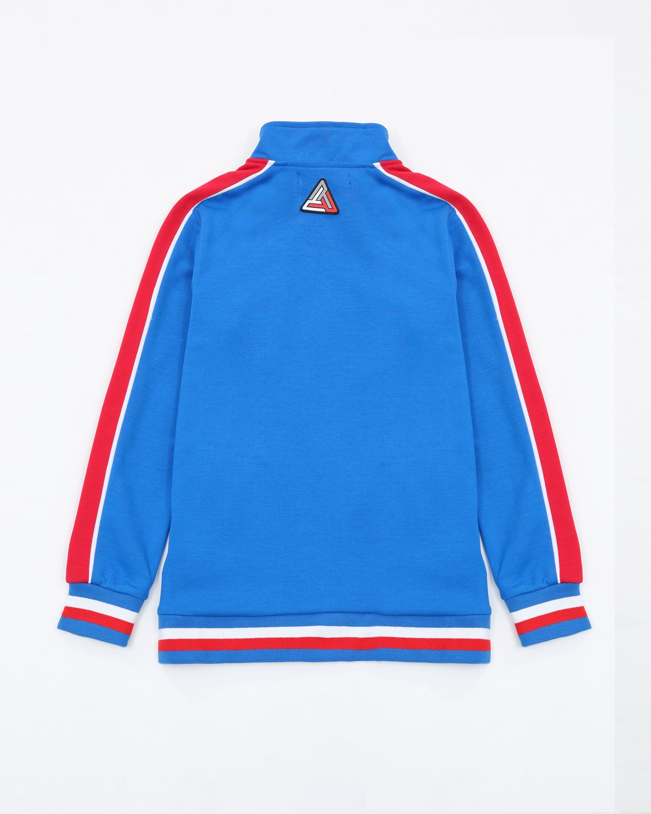 BP Rubber Patch Track Jacket - Color: BLUE