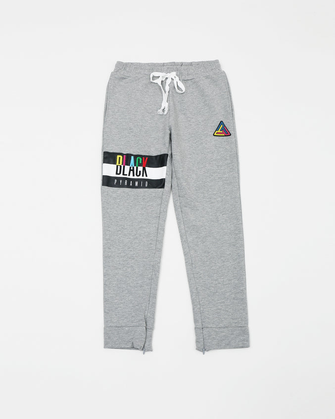 Black Pyramid Kids Pants - Color: Gray
