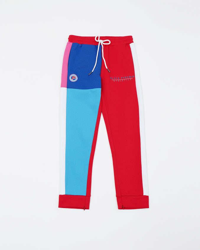 BP Athletic Color Kids Track Pant - Color: Red