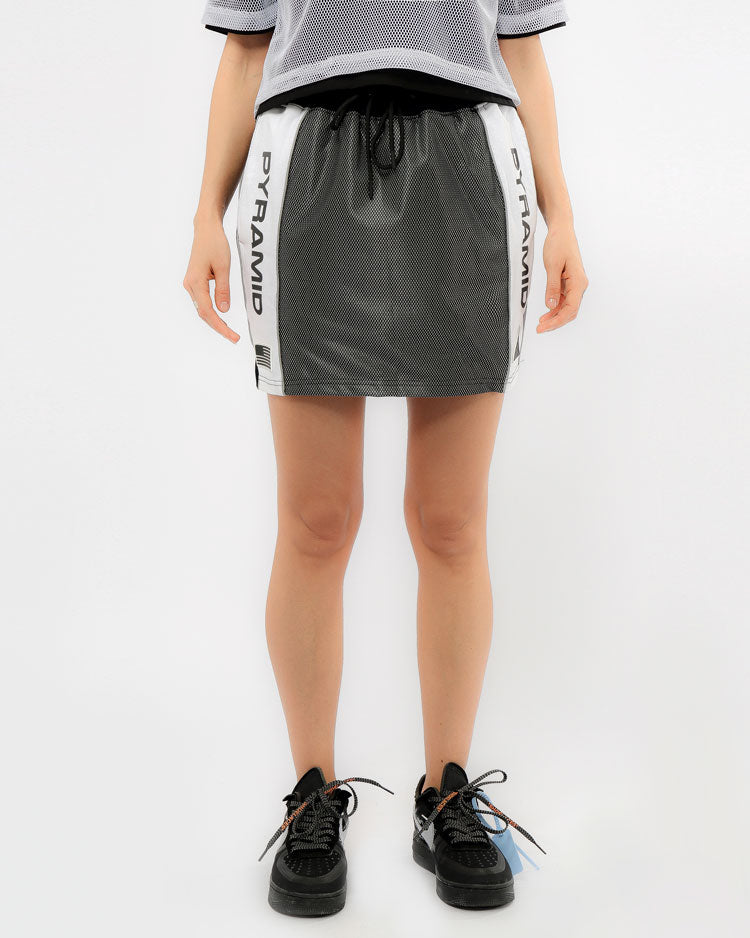 WOMENS USA REFLECTIVE SPORT SKIRT