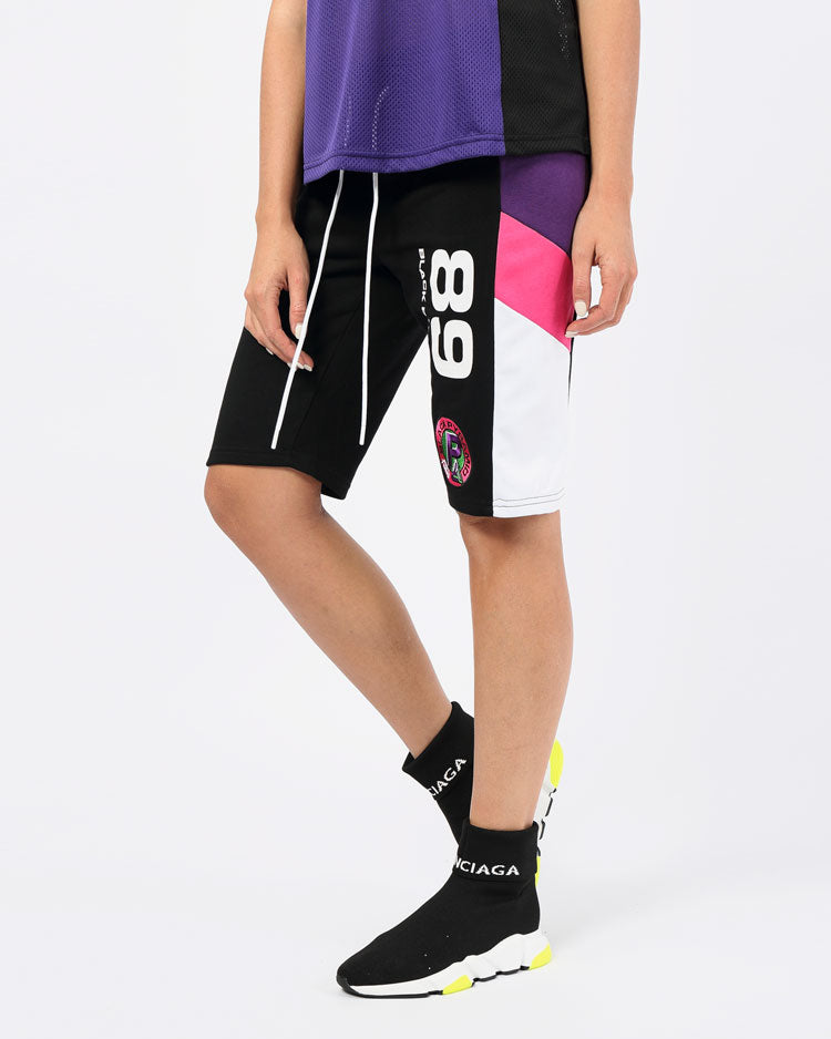 WOMENS OCEAN DRIVE SURF SHORTS-COLOR: BLACK