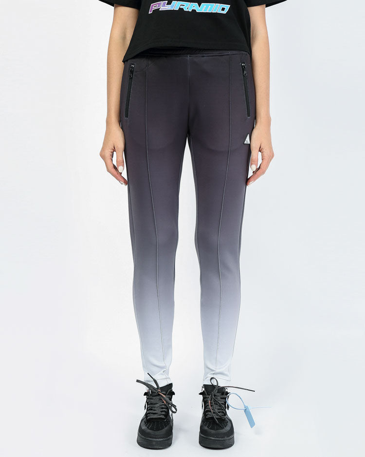 WOMENS OMBRE REFLECTIVE TRACK PANT