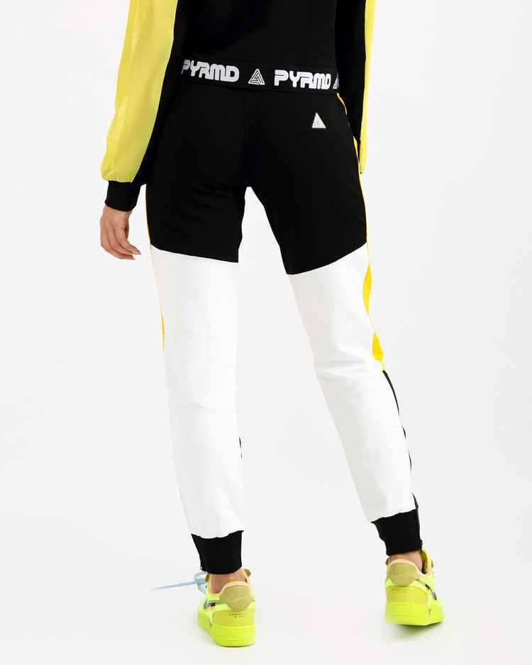 WOMENS PYRMD SLIM JOGGER PANT-COLOR: BLACK