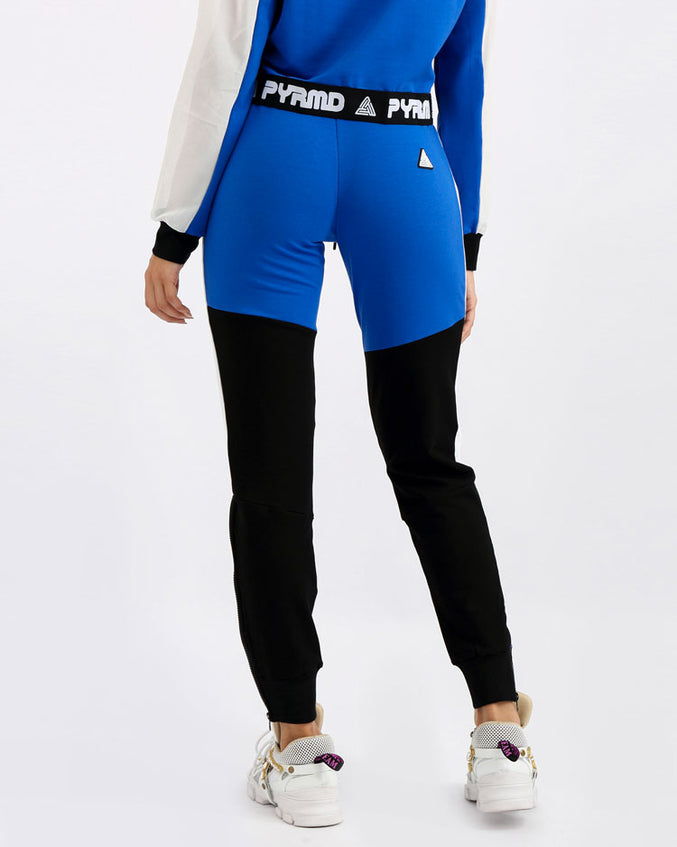 WOMENS PYRMD SLIM JOGGER PANT-COLOR: BLUE
