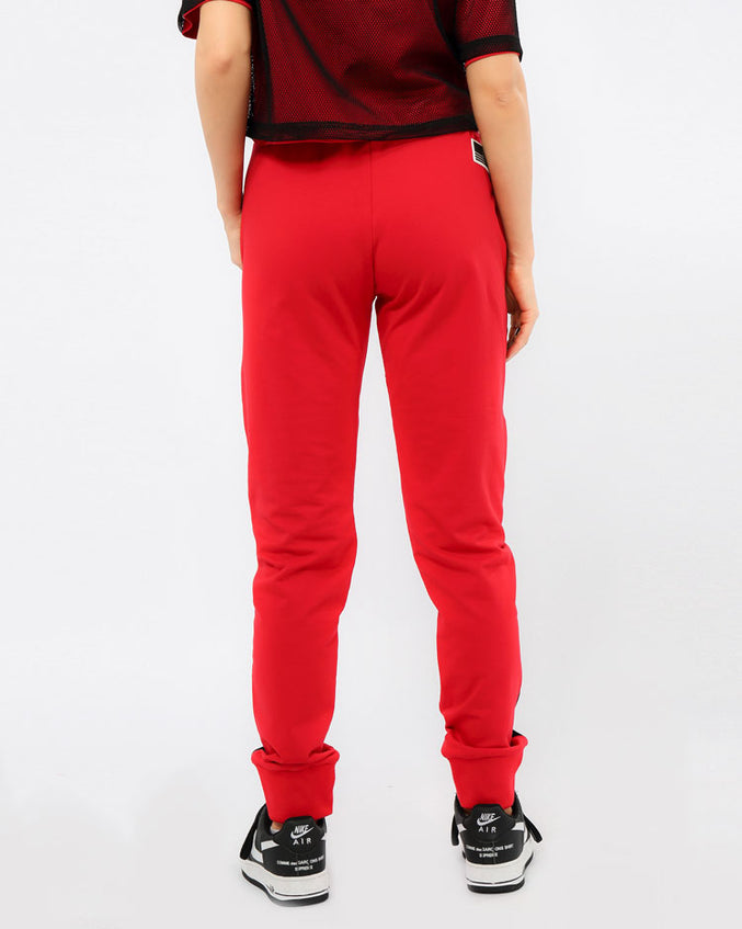 WOMENS REFLECTIVE JOGGER PANT-COLOR: RED